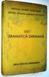 Gramatica germana Ludovic Leist Ed. a III- a 1940