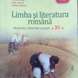 LIMBA SI LITERATURA ROMANA MANUAL PENTRU CLASA A XI-A - Adrian Costache - Manual scolar, Clasa 11