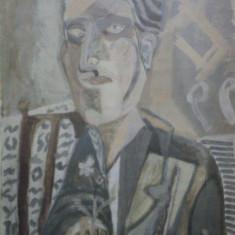 PORTRET BUST- AUREL COJAN - Pictor roman