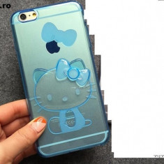 Husa iphone 6 hello kitty silicon - Husa Telefon Apple, Transparent