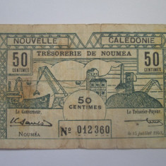 Noua Caledonie 50 centimes 1942