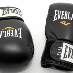 Everlast Fighter 12 oz - manusi de box din piele - Noi si Originale