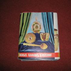 Articole romanesti de artizanat - 72 planse (1976) - Carte Arta populara