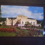 R.S.R. - VATRA DORNEI - COMPLEXUL BALNEAR, PAVILIONUL CENTRAL- CIRCULATA - Carte Postala Moldova dupa 1918, Fotografie
