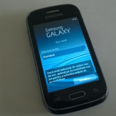Vand Samsung Galaxy Young S6310 - touch screen defect - blocat Vodafone - Telefon mobil Samsung Galaxy Young, Single SIM