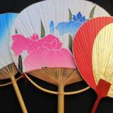 Lot 3 evantaie set vintage de colectie traditional japonez pentru colectionari