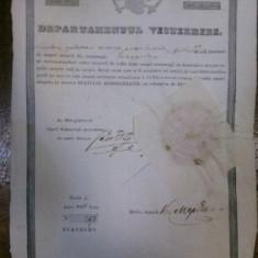Brevet de mester dogar pe numele Nicolae Nedelcu Bucur, 1846 - Diploma/Certificat