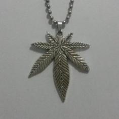 Pandantiv Medalion Marijuana Cannabis Iarba Rasta Jamaica - Pandantiv fashion