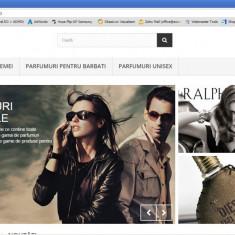 Vand site magazin online parfumuri - Site de Vanzare