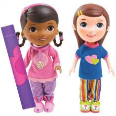 Figurine Doctorita Plusica si Emmie Slumber Party - Figurina Povesti Disney