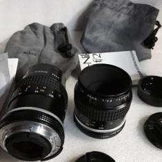 Vand obiectiv Micro-NIKON 55mm 2.8 AI S ca si noi - Obiectiv DSLR Nikon, Macro (1:1), Manual focus, Nikon FX/DX