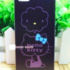 Husa iphone 5 5s SE Hello Kitty - Husa Telefon Apple, Negru
