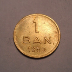 1 ban 1952 UNC - Moneda Romania