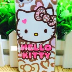 Husa iphone 5 / 5s hello kitty - Husa Telefon Apple, Alb