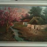 Pictura La tara Mircea Dumitrescu ( 1915-1984 ) Lichidare colectie, Natura, Ulei, Realism