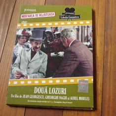 Film romanesc Colectia Cinemateca - Doua lozuri !!! - Film Colectie, DVD, Altele