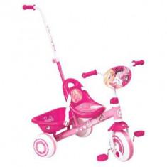 Tricicleta Barbie - Tricicleta copii, 12-24 luni, Fata, Roz