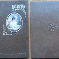 Carmen Sylva , Pe Dunare , 1904 , editia 1 , legatura integral piele
