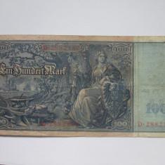 Germania.100 mark.1910 - bancnota europa