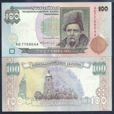 UCRAINA 100 HRIVNE 1996 a UNC [2] P-114a, Semnatura VADIM GETMAN - bancnota europa