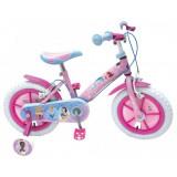 Bicicleta Disney Princess 12' 14' 16' - Bicicleta copii, Numar viteze: 1