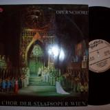 Disc vinil DER CHOR DER STAATSOPER WIEN - OPERNCHORE (Eurostar CDS 037)