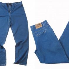 Pantaloni barbati - albaştri eleganti - simpli - FARMS PB04 W  (Art. 464), Albastru