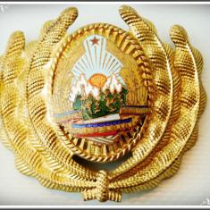 CUC MILITAR DE CHIPIU - STEMA DIN ALAMĂ EMAILATĂ - REPUBLICA SOCIALISTĂ ROMÂNIA!
