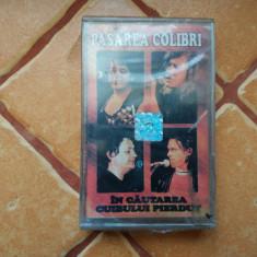 Pasarea Colibri - In cautarea cuibului pierdut (CA)Sigilata, Casete audio