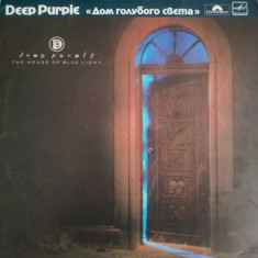 Deep Purple – The House Of Blue Light (LP - Rusia - VG)