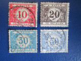 TIMBRE BELGIA USED