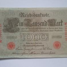 Germania.1000 mark.1910 - bancnota europa