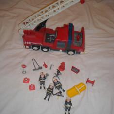 Playmobil City - Masina de pompieri - Masinuta Playmobil, Plastic