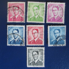 TIMBRE BELGIA USED, Stampilat