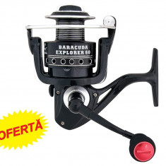 Mulineta Baracuda Explorer 60 Rulmenti 6, Lansat, stationar