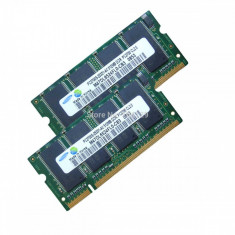 Memorie RAM Laptop 1Gb DDR 1 333Mhz PC2700 200 Pini SO-DIMM Notebook Kit - NOU!