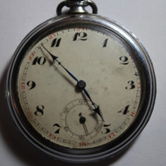 CEAS DE BUZUNAR FARA NUME PE CADRAN SAU MASINA-D=5CM. - Ceas de buzunar vechi