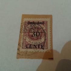 Germania/memel 1923 blazoane / 1 v. stampilata / mi 172