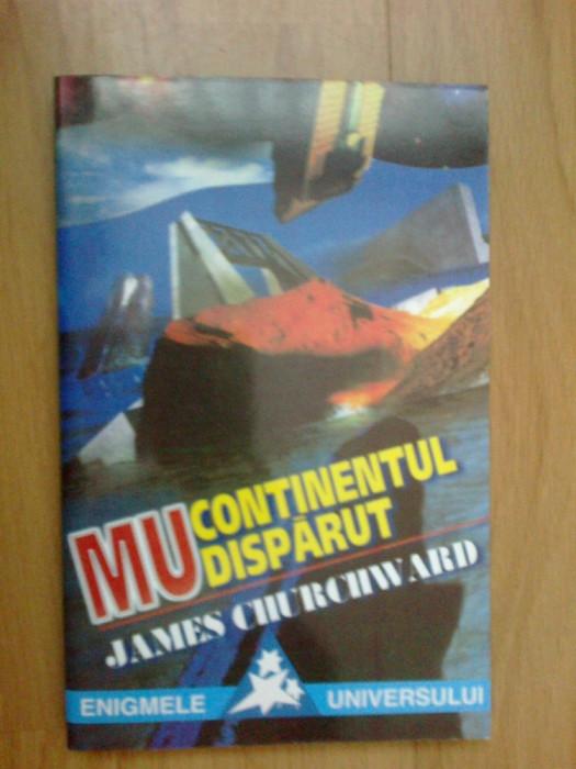 w4 James Churchward - MU - CONTINENTUL DISPARUT