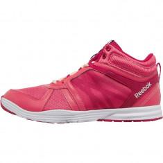 Adidasi originali dama Reebok Womens Sublite Studio Flame Mid Training Shoes - Adidasi dama Reebok, Culoare: Din imagine, Marime: 36, 37.5, 38