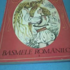 BASMELE ROMANILOR EDITIE INGRIJITA DE SABINA STOENESCU 1987, ILUSTRATII DONE STAN - Carte Basme