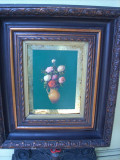 Tablou flori, Ulei, Impresionism