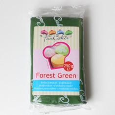 Pasta de zahar (fondant / icing / martipan) VERDE (FOREST GREEN) - Produse pentru copt