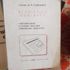 STATISTICA GENERALA -PROF.N.VASILESCU - Carte de vanzari