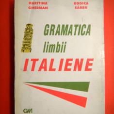 GRAMATICA LIMBII ITALIENE Haritina Gherman - Curs Limba Italiana