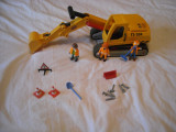 Playmobil City - Excavatorul 3001, Plastic