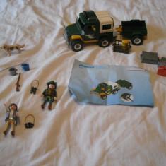 Playmobil City 4206 - Masina padurarului - Masinuta Playmobil, Plastic