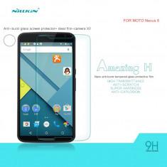 Geam Motorola Nexus 6 Tempered Glass by Nillkin - Folie de protectie Motorola, Lucioasa