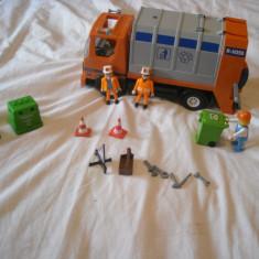 Playmobil City 4418 - Masina de gunoi - Masinuta Playmobil, Plastic