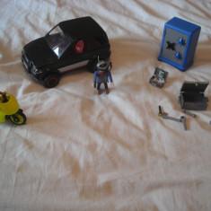 Playmobil City 4509 - Masina spargatorului de seifuri - Masinuta Playmobil, Plastic